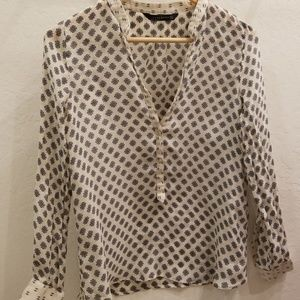 Zara silk blouse size small
